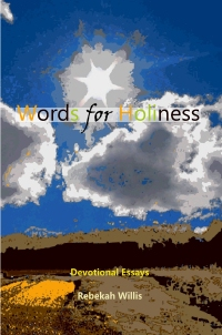 Book Cover, Words for Holiness